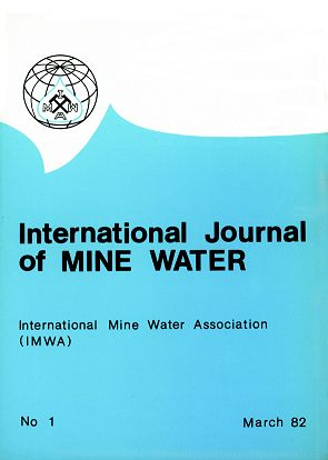 Mine Water and the Environment Journal Cover